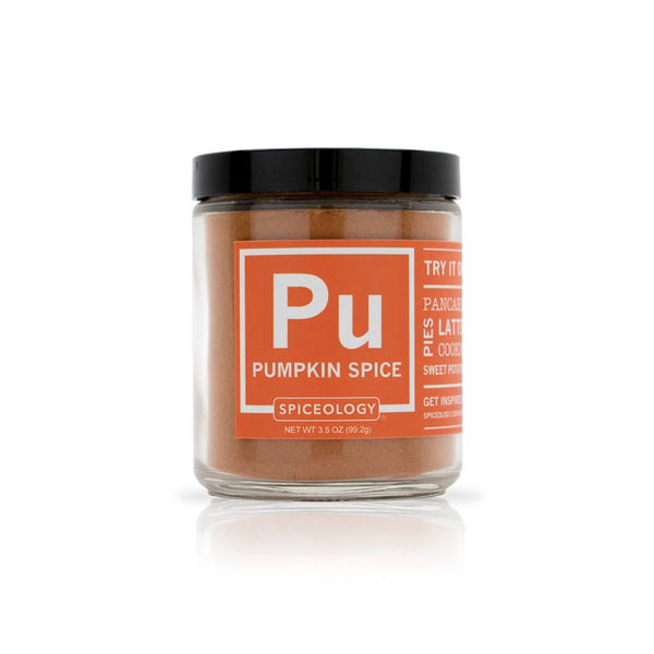 Pumpkin Spice | Glass Jar GLASS JARS Spiceology 3.5 OZ