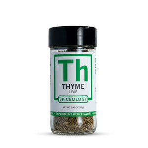 Thyme Leaves | Glass Jar A-Z Spiceology 0.93 OZ