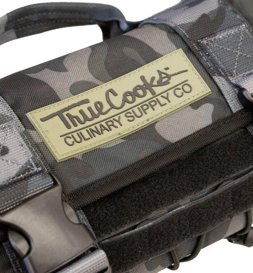 TrueCooks Knife Roll Rewards Spiceology Dark Camo