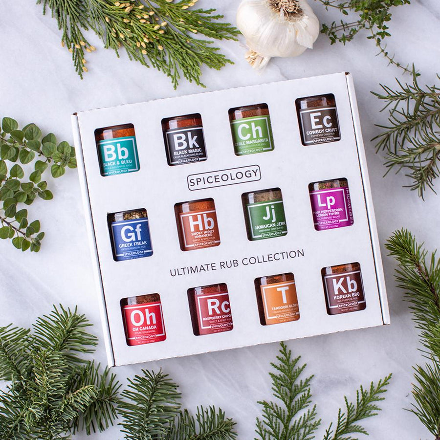Ultimate Rub Collection - 12 Mini Rub Jars GIFT SETS Spiceology