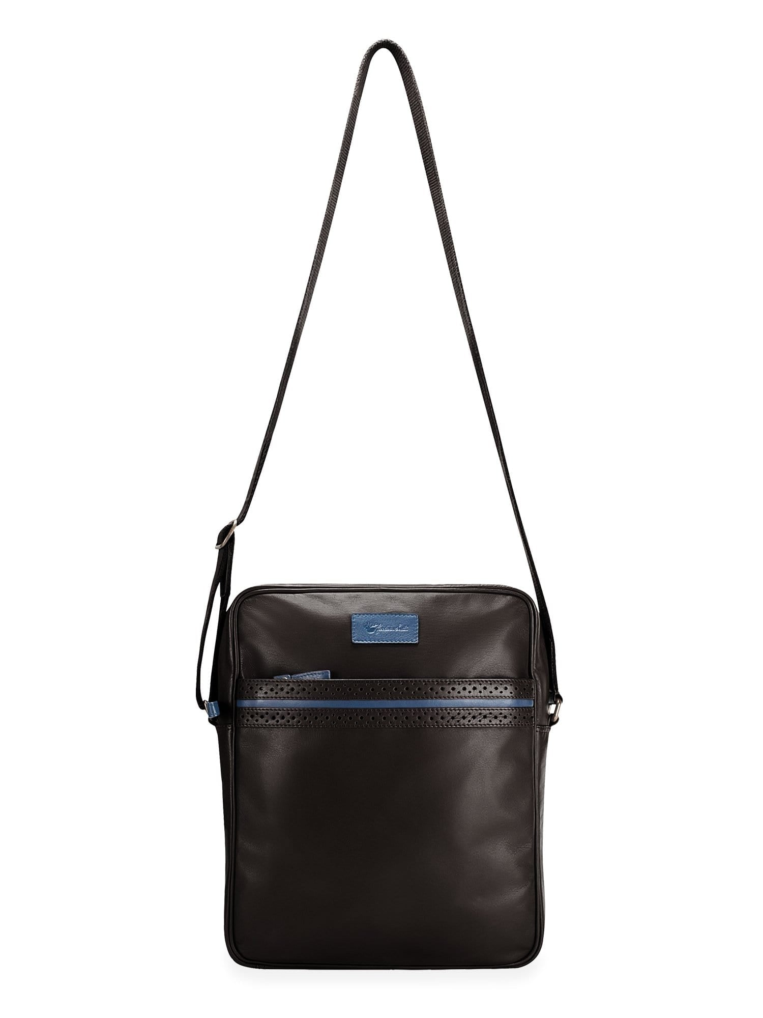 Goodwin Smith Accessories Black / Leather / One Size Bigglesworth Black Leather Shoulder Bag