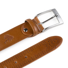 "Goodwin Smith Accessories M / 33""-35"" / Tan / Leather CARLO TAN"