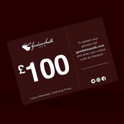 Goodwin Smith Accessories Gift Card - £100