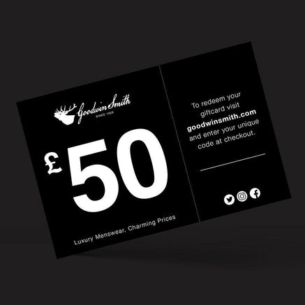 Goodwin Smith Accessories Gift Card - £50