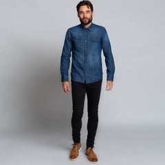 Goodwin Smith Clothing S / Light Blue / Denim ALFRED BLUE