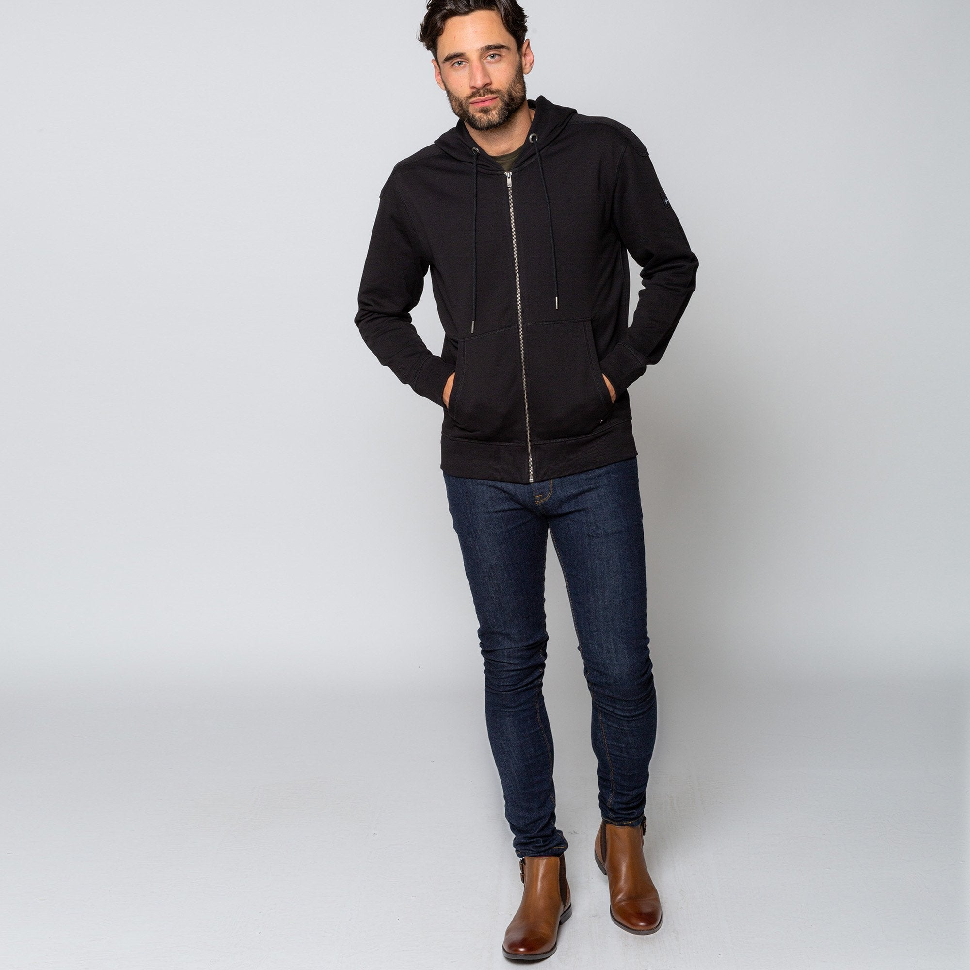 Goodwin Smith Clothing S / Black / Cotton BEECH BLACK
