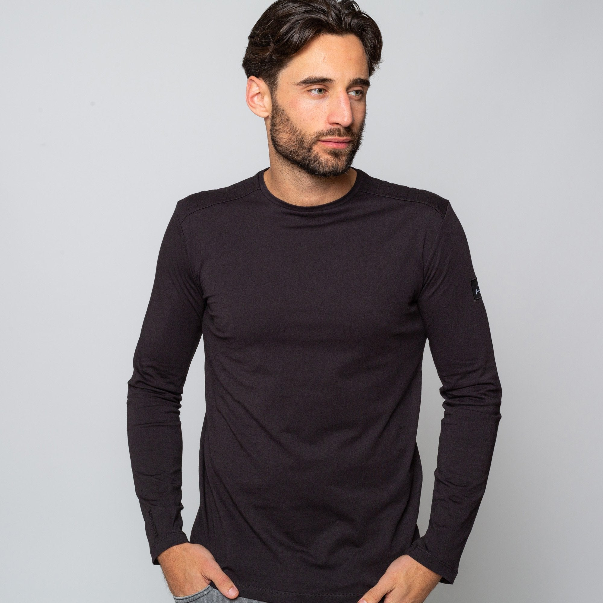 Goodwin Smith Clothing S / Black / Cotton GRASSINGTON BLACK