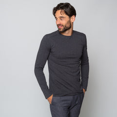 Goodwin Smith Clothing S / Charcoal / Cotton GRASSINGTON CHARCOAL