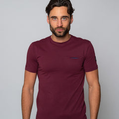 Goodwin Smith Clothing S / Maroon / Cotton GROVE MAROON