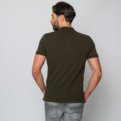 Goodwin Smith Clothing S / Khaki / Cotton Pique HEWITT KHAKI