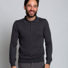 Goodwin Smith Clothing S / Charcoal / Merino Wool OAKS CHARCOAL