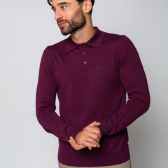 Goodwin Smith Clothing S / Maroon / Merino Wool OAKS MAROON