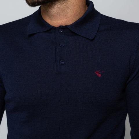 Goodwin Smith Clothing S / Navy / Merino Wool OAKS NAVY