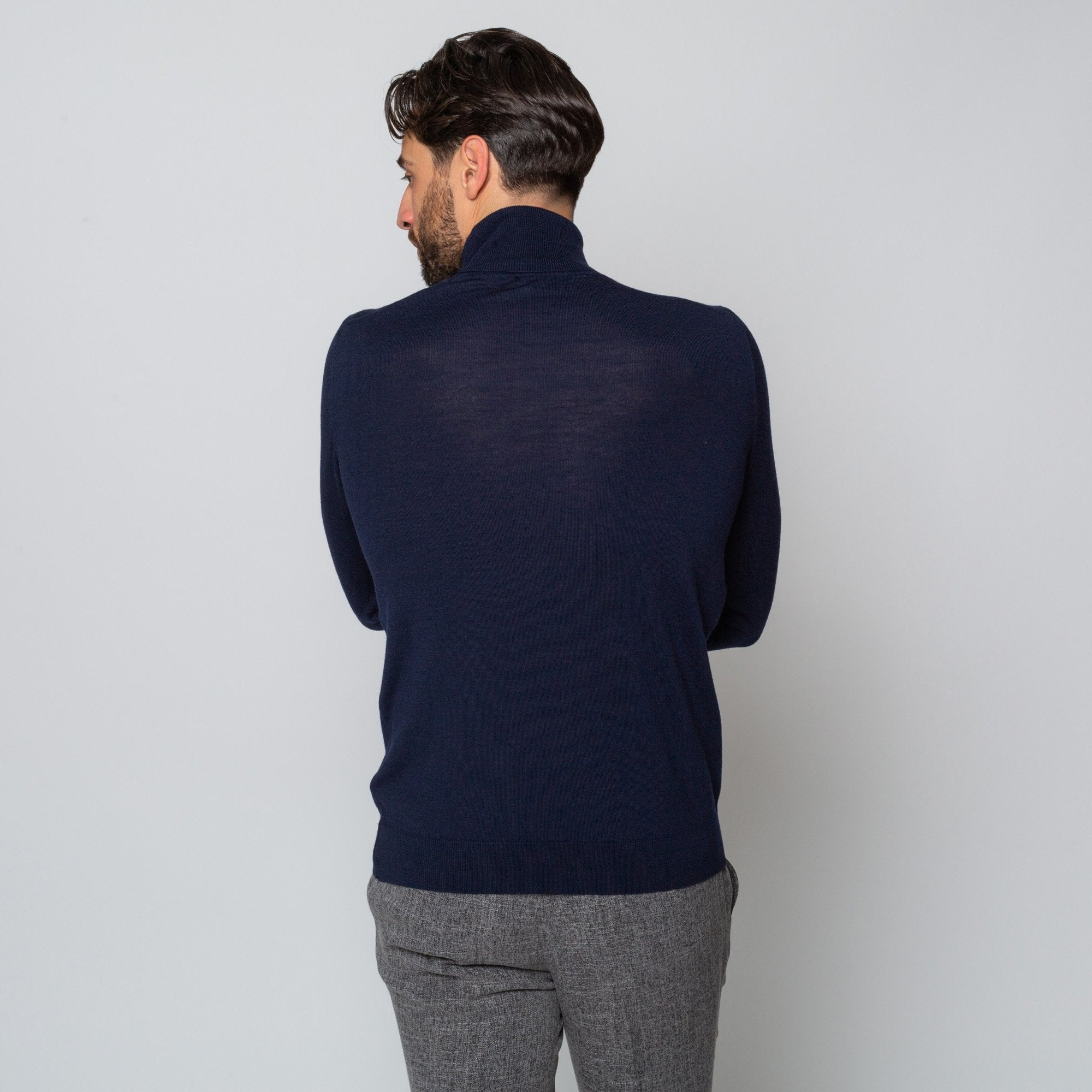 Goodwin Smith Clothing S / Navy / Merino Wool UNION NAVY