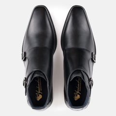 Goodwin Smith Footwear UK 6 / EURO 39 / US 7 / Black / Leather AIRTON BLACK