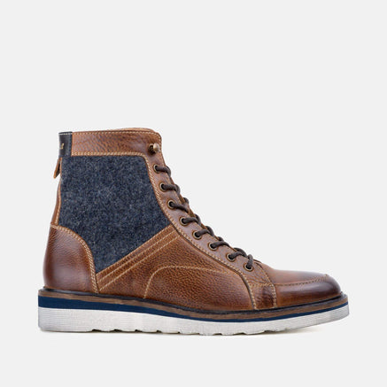 Goodwin Smith Footwear AW19 MEN'S JAMESON TAN WEDGE BOOT