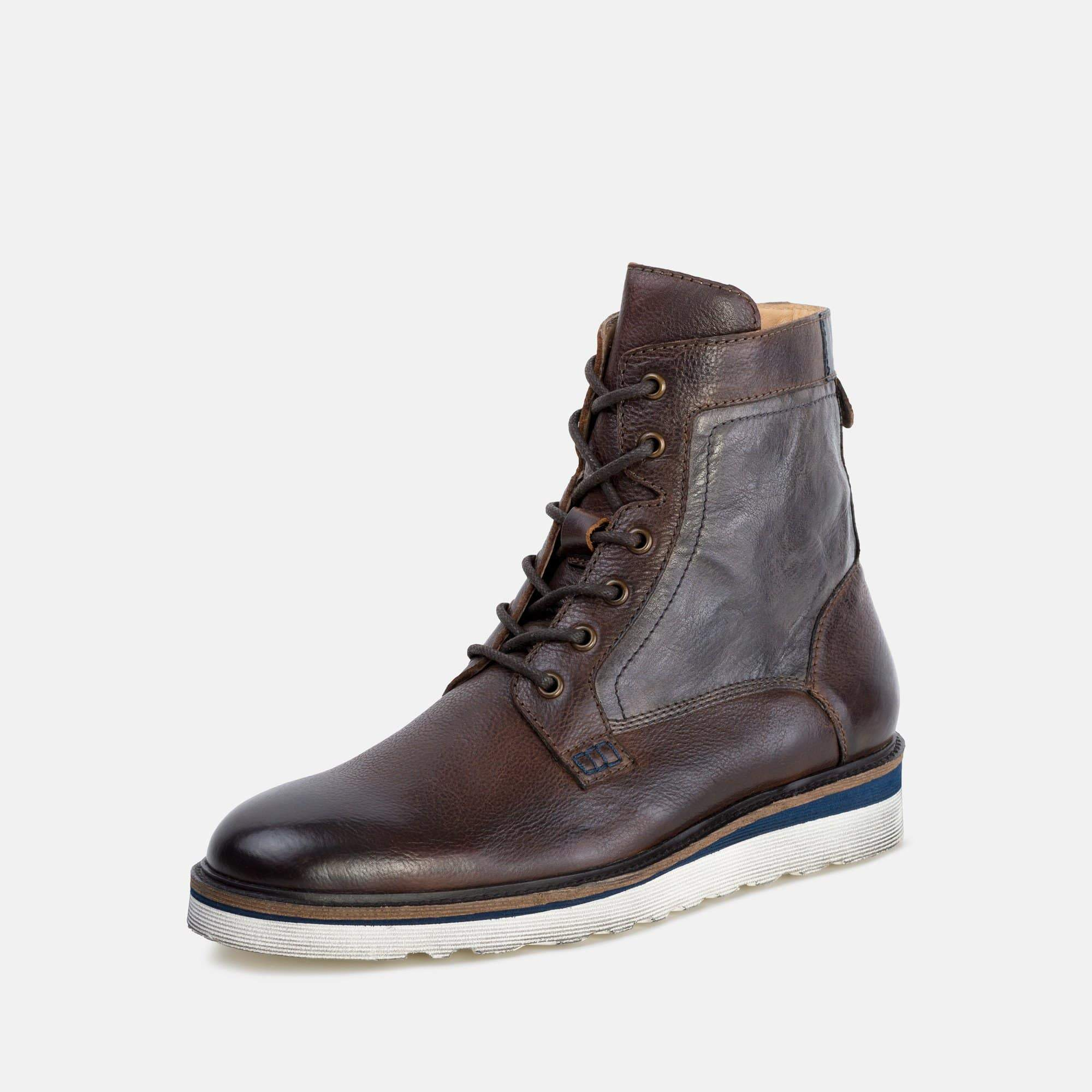 Goodwin Smith Footwear AW19 MEN'S LUTHER BROWN WEDGE BOOT