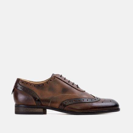 Goodwin Smith Footwear AW19 MENS THOMAS TAN OXFORD