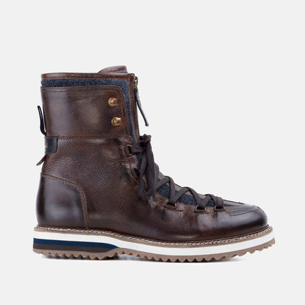 Goodwin Smith Footwear AW19 MENS WADE BROWN HIKING BOOT