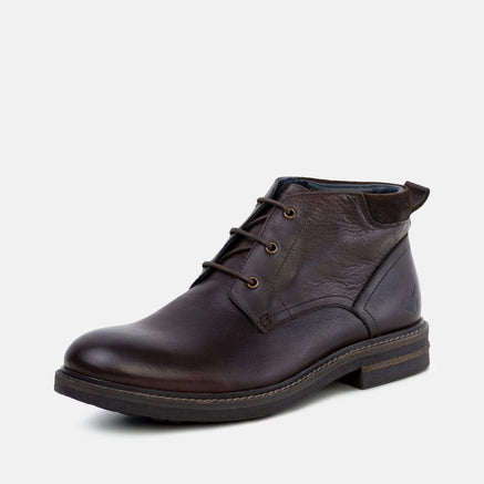 Goodwin Smith Footwear AW19 Regis Brown Classic Leather Chukka Boot