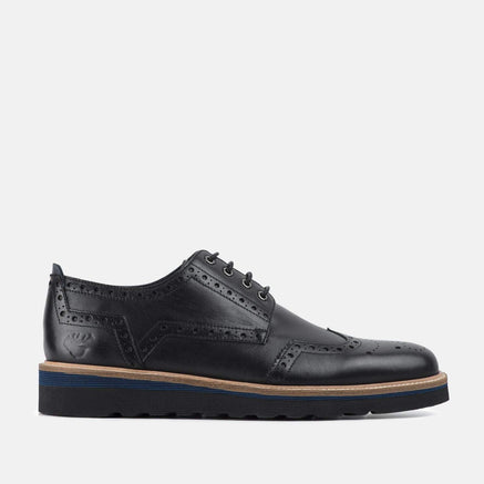 Goodwin Smith Footwear UK 6 / EURO 39 / US 7 / Black / Leather BOLTON BLACK