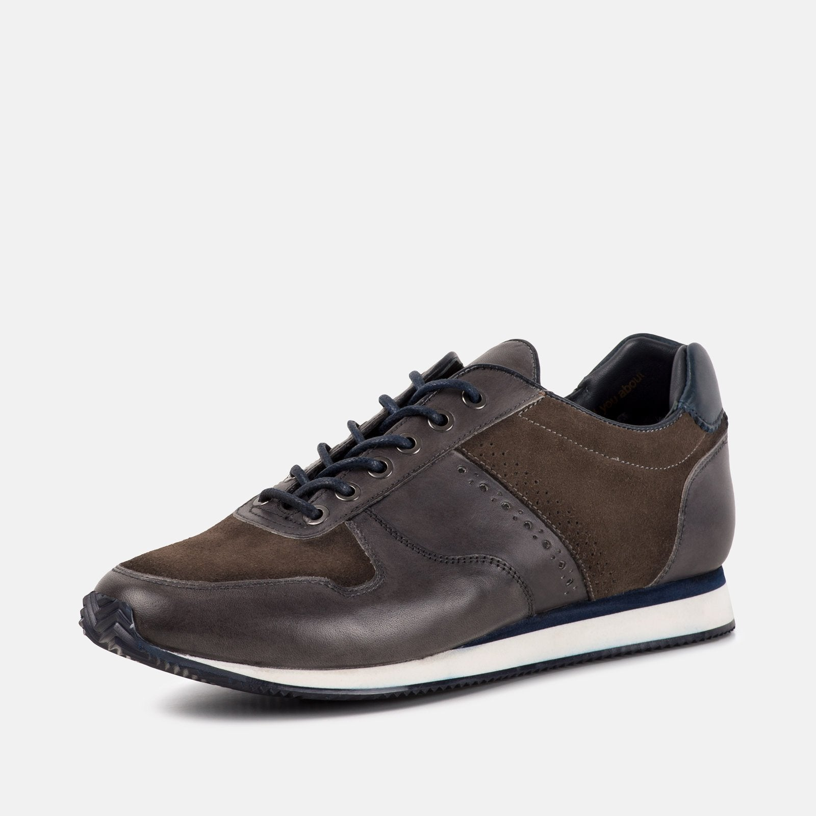 Goodwin Smith Footwear UK 6 / EURO 39 / US 7 / Grey / Leather BRONX GREY