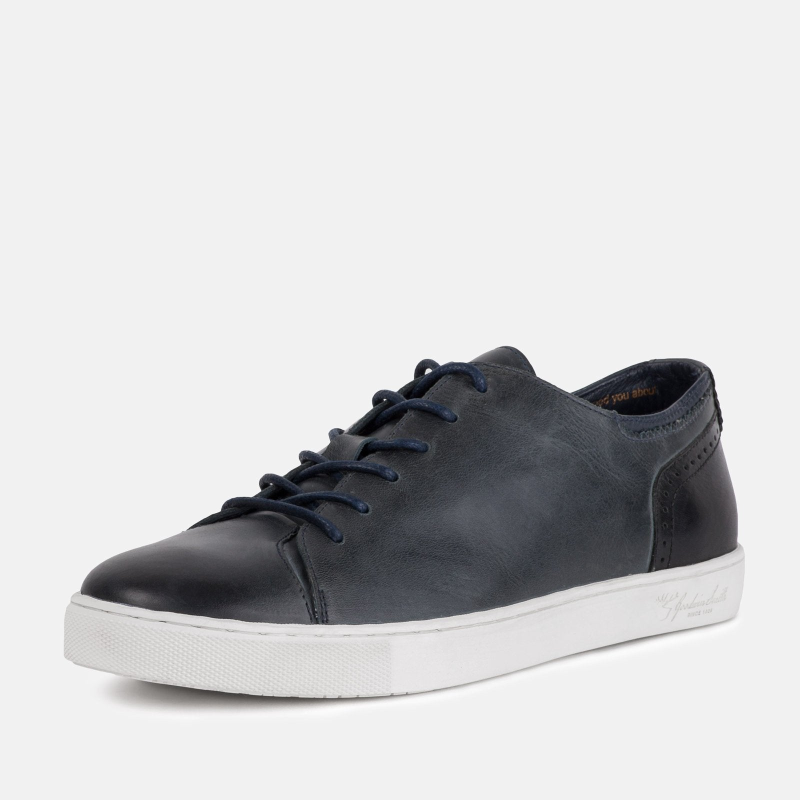 Goodwin Smith Footwear UK 6 / EURO 39 / US 7 / Navy / Leather HARLEM NAVY