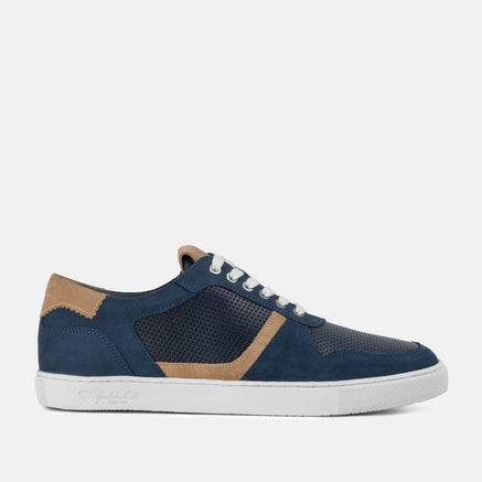 Goodwin Smith Footwear UK 6 / EURO 39 / US 7 / Grey / Nubuck HODDLE NAVY