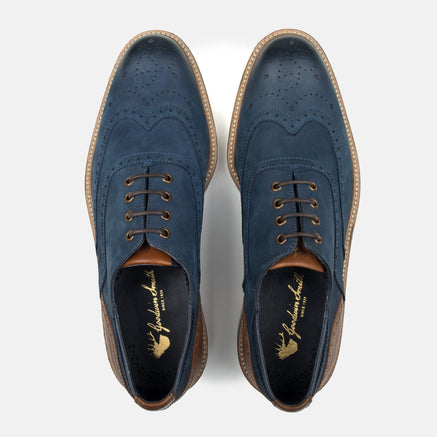 Goodwin Smith Footwear UK 6 / EURO 39 / US 7 / Navy / Nubuck HORNBY NAVY