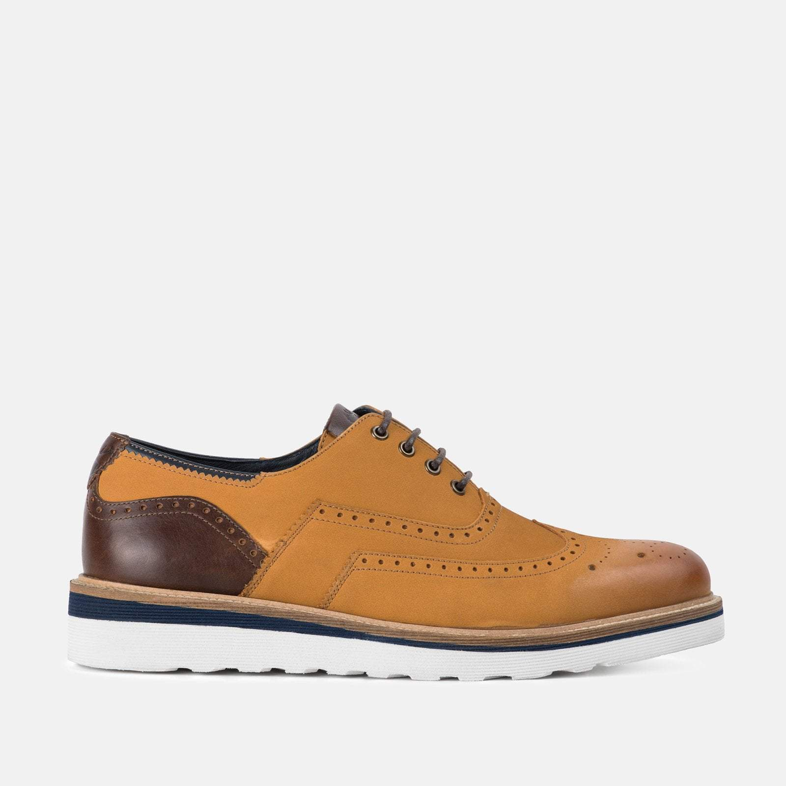 Goodwin Smith Footwear UK 6 / EURO 39 / US 7 / Tan / Nubuck HORNBY TAN