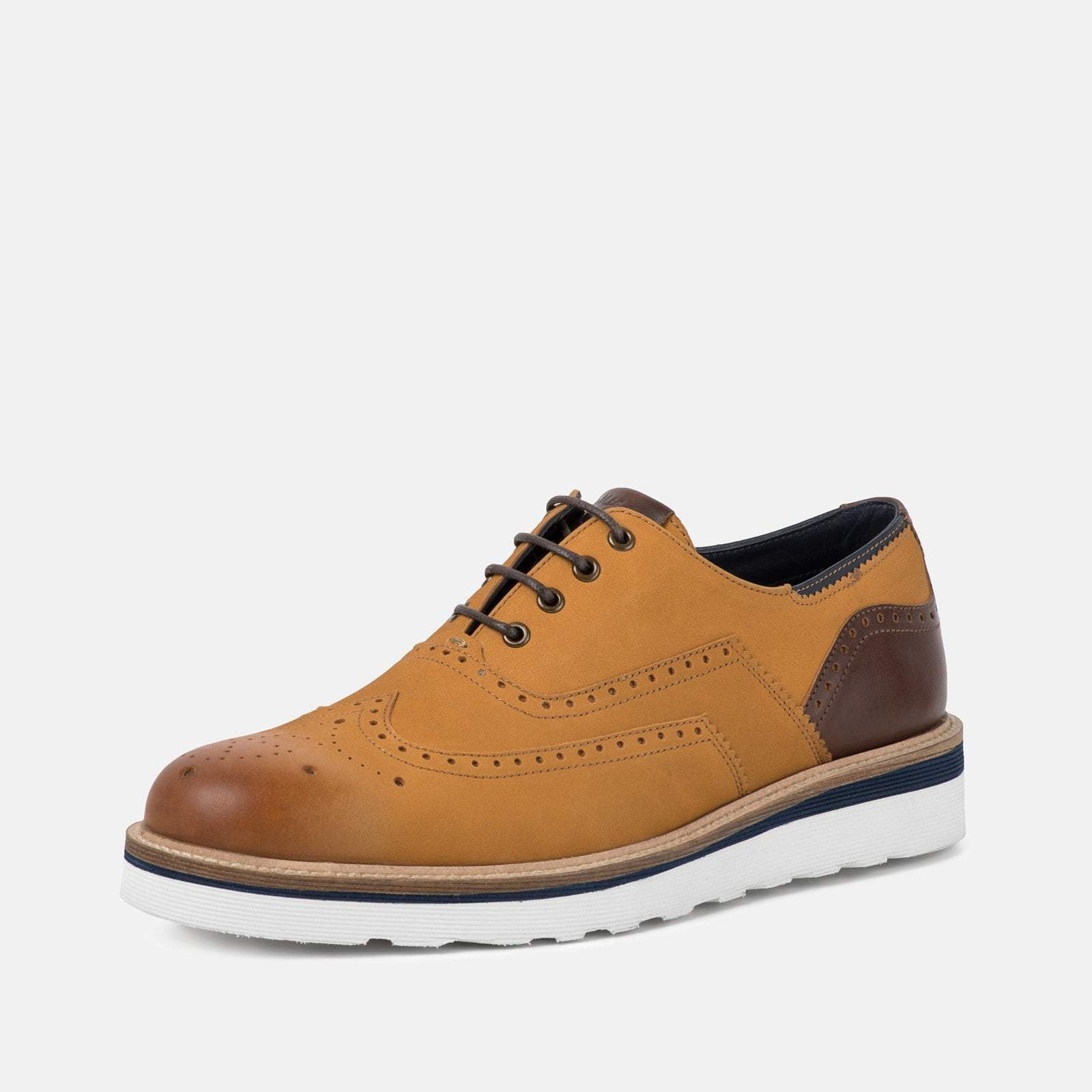 Goodwin Smith Footwear UK 6 / EURO 39 / US 7 / Black / Leather HORNBY TAN