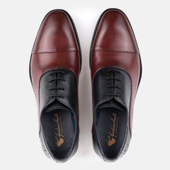 HUTTON BLACK/BORDO