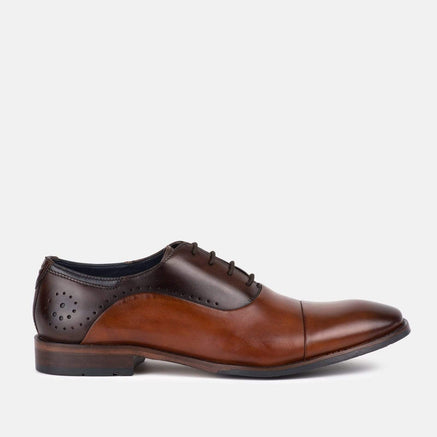 Goodwin Smith Footwear HUTTON BROWN/TAN