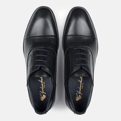 Goodwin Smith Footwear Irving Black Classic Leather Oxford Shoe