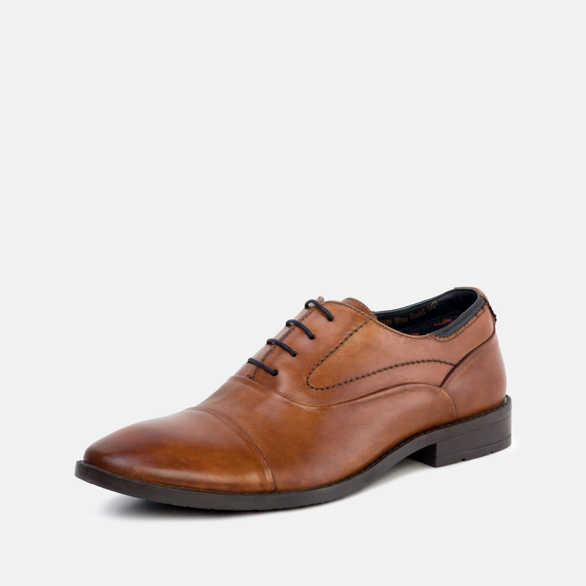 Goodwin Smith Footwear Irving Tan Classic Leather Oxford Shoe