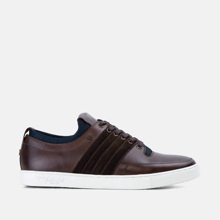 Goodwin Smith Footwear Jordan Brown Casual Leather Plimsoll