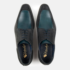 Goodwin Smith Footwear UK 6 / EURO 39 / US 7 / Navy / Leather KNOWLE BLUE