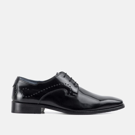 Goodwin Smith Footwear UK 6 / EURO 39 / US 7 / Bordo / Leather LINDALE BLACK