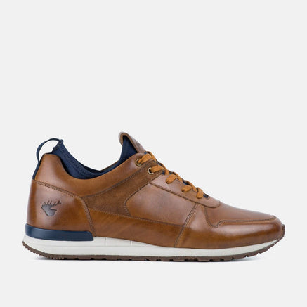 Goodwin Smith Footwear UK 6 / EURO 39 / US 7 / Navy / Suede LINEKER TAN