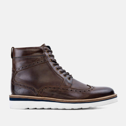 Goodwin Smith Footwear Linton Brown Casual Leather Brogue Boot