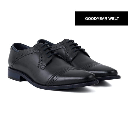 Goodwin Smith Footwear MALHAM SLATE NAVY - GOODYEAR WELT