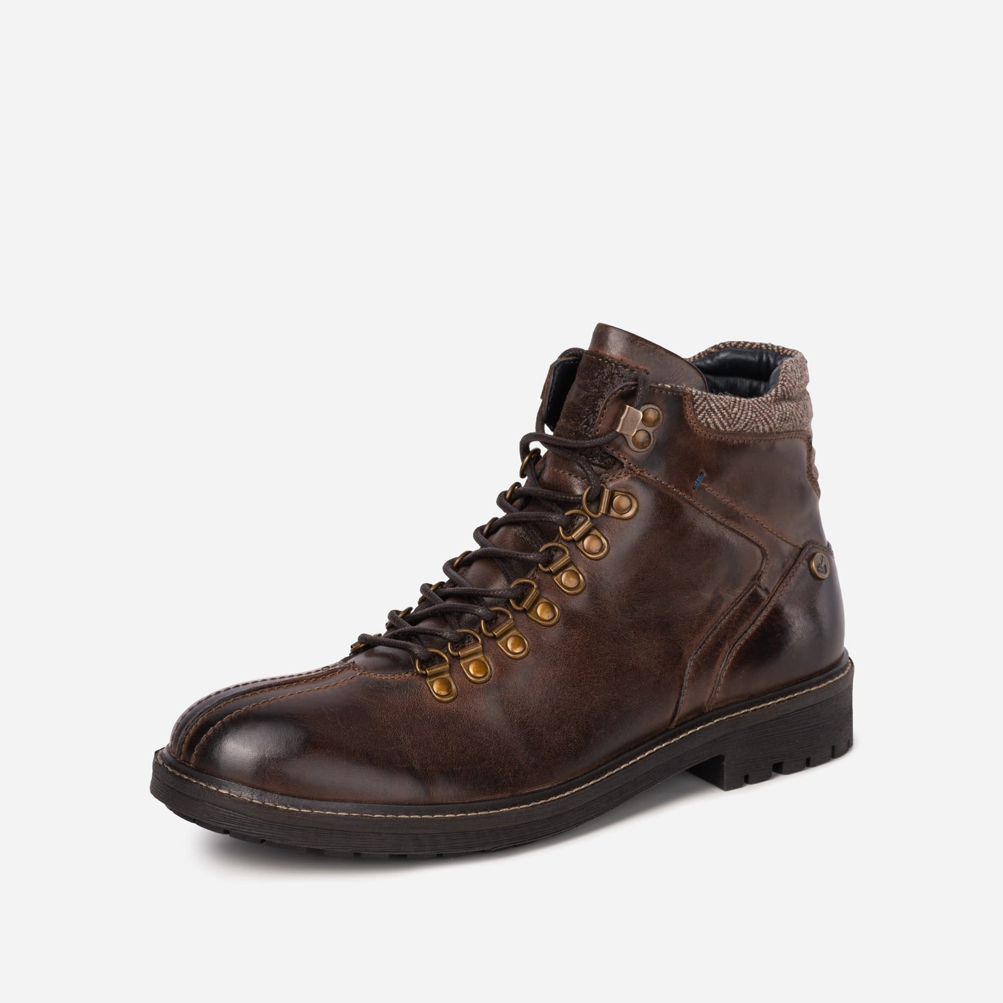 Goodwin Smith Footwear MENS GS EDGAR BROWN HIKING BOOT