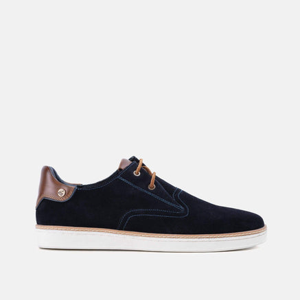 Santiago casual suede mens plimsoll shoes