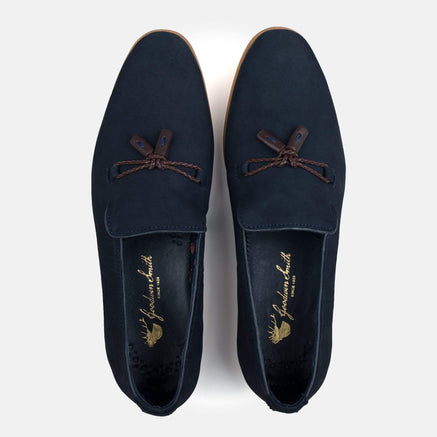 Goodwin Smith Footwear UK 6 / EURO 39 / US 7 / Navy / Nubuck MILTON NAVY