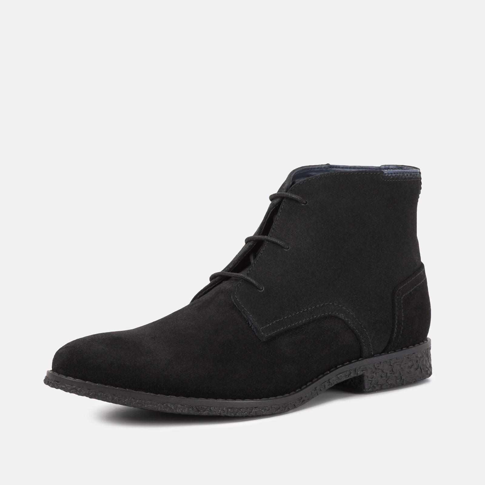 Goodwin Smith Footwear UK 6 / EURO 39 / US 7 / Black / Suede Mojave Black