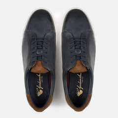 Goodwin Smith Footwear UK 6 / EURO 39 / US 7 / Navy / Leather MOORE NAVY