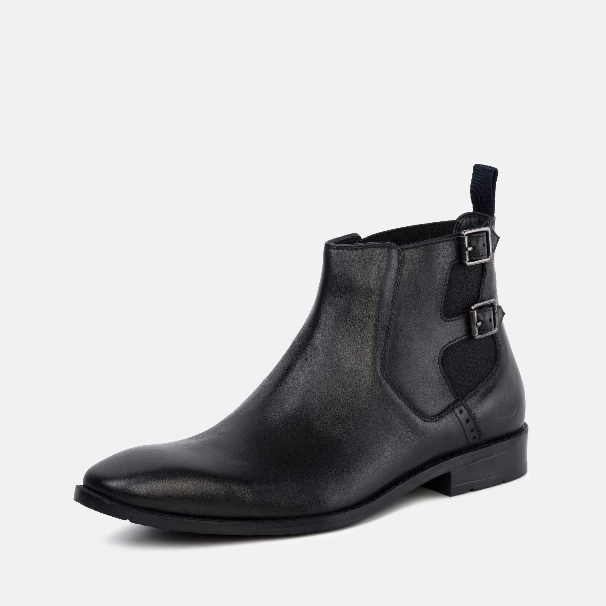 Goodwin Smith Footwear Morgan Black Leather Chelsea Boot