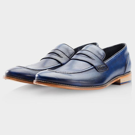 Goodwin Smith Footwear NAVY BRISBANE SHOE FACTORY SECONDS - (UP TO SIZE 14)