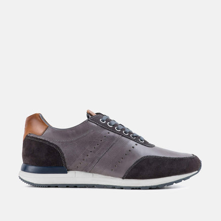 Goodwin Smith Footwear UK 6 / EURO 39 / US 7 / Grey / Leather RAMSEY GREY