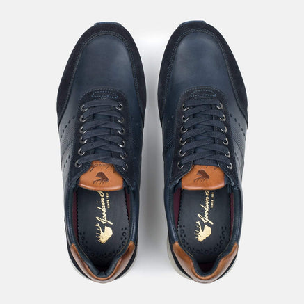 Goodwin Smith Footwear UK 6 / EURO 39 / US 7 / Navy / Leather RAMSEY NAVY